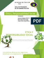 Etica y Responsabilidad Social Ppt Final