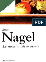 La Estructura de La Ciencia Ernest Nagel