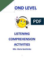 2nd Level Listening Comprehension