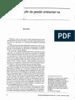DONAIRE- Internalização Da Gestão Ambiental Na Empresa