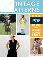 11 Free Vintage Patterns How to Sew Retro-Inspired Clothing for Ladies Free eBook