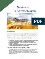 Shavuot the Harvest Festival 5777