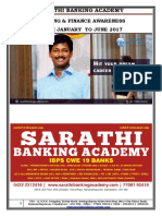 Banking and Finance Awareness (Jan to June) 2017