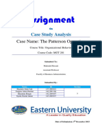 Patterson Operation Case Study Presentation