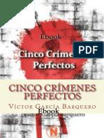 Cinco Crimenes Perfectos - Victor Garcia Barquero