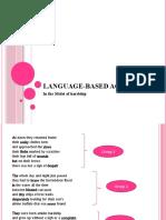 Language Based Activity