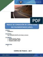 Informe Del Urci de La Carretera Champamarca -Yurajhuanca(Pasco)