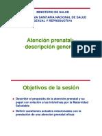 Atención Prenatal Reenfocada 2012