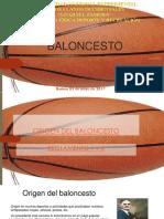 Diapositiva de Baloncesto