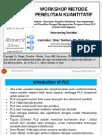 9. Modul SEM Dengan PLS - Intervening.ppt