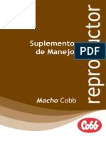 Cobb Male Management Supplement Spanish