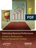 Optimizing Revenue Performance - Starfleet Research - IDeaS