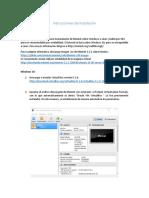 Instrucciones de Instalacion y Uso MININET