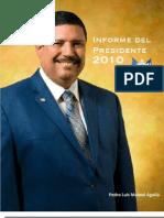 Informe del Presidente del CUD / Pedro Malave