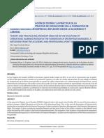 Análisis de La Integración de Teoría y La Práctica de La Disciplina de Administración de Operaciones en La Formación de Administradores de Empresas, Reflexión Desde Lo Académico y Laboral