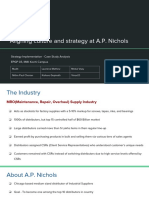 Aligning Culture and Strategy at a.P.nichols