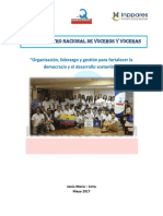 Protocolo XVI Encuentro de Voceros y Voceras 2017