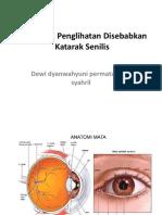Gangguan Penglihatan Disebabkan Katarak Senilis.pptx