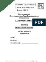 MicroController Manual 2017
