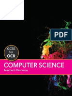 GCSE Computer Science for OCR Teachers Resource