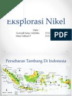 Eksplorasi Nikel