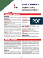 GRP Laminating Data Sheet