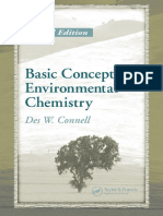 Basic Concepts of Environmental Chemistry 2nd Ed - Des W. Connell (CRC, 2005)