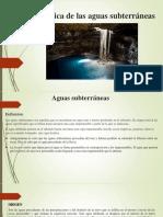 Acción Geológica de Las Aguas Subterráneas.pptx