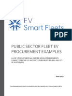 Public Sector Fleet EV Procurement Examples