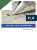 Comprehensive Procurement Procedure Sample 2