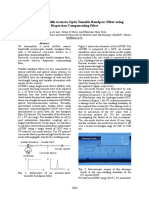 Narrow-Bandwidth Acousto-Optic Tunable Bandpass Filter Using Dispersion Compensating Fiber