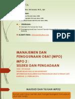 2. MPO 2 Seleksi Dan Pengadaan