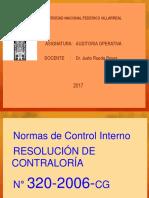 Clase 06, Control Interno, Primera Parte