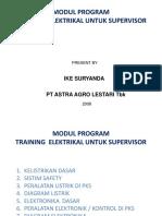Modul Program Traning Spv Elc