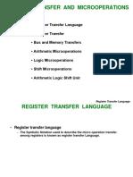 2) RegisterTransfer