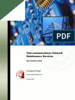 Telecom Network Maintenance Services
