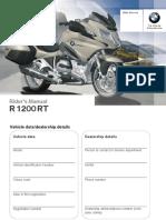 Instruction Manual R1200RT