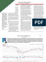 Lane Asset Management Stock Market Commentary August 2010