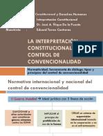 Presentación de Interpretacion y Convencionalidad