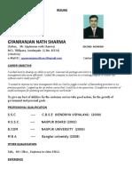 Gyanranjan Nath Sharma