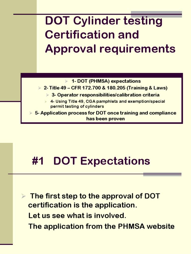 DOT Training & Certification   Calibration   Dangerous Goods