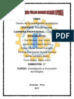 Diseño de La Investigacion Tecnologica Heredia