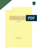 Сабрана дела Димитрија В. Љотића - Том IX