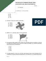 Examen de Los 4 Métodos para sexto de primaria