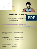 Valid 642-885 Dumps PDF - 642-885 Practice Test Questions | Dumps4downlaod