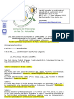 Jornadas de Ciencias Región VI
