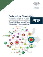 World Economic Forum Technology Pioneers 2010