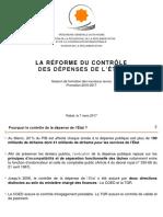 Reformes Du Controle de La Depense Nouveaux Recrus 2017 Vaf2 (1)