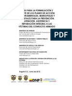 Guia Plan de Accion Territorial Victimas