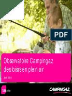 Observatoire Campingaz2011